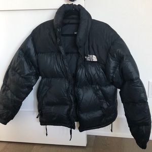 Black Women's north face jacket
